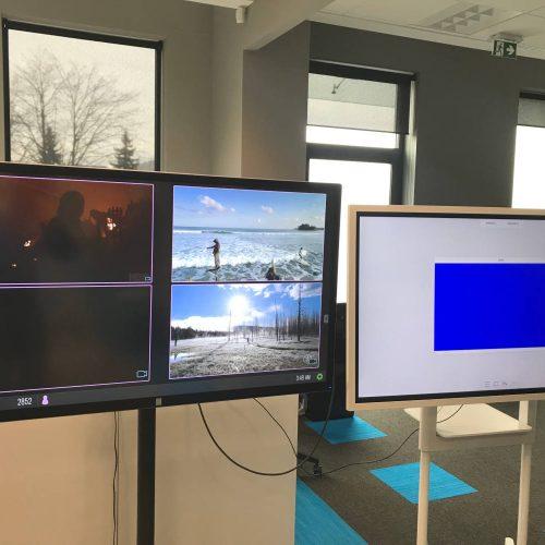 Szybki test – układ dwóch monitor z Mersive Solstice Pod 3