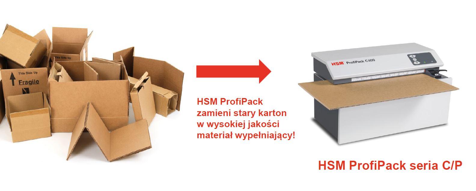 Nacinarka do kartonów ProfiPack HSM 16