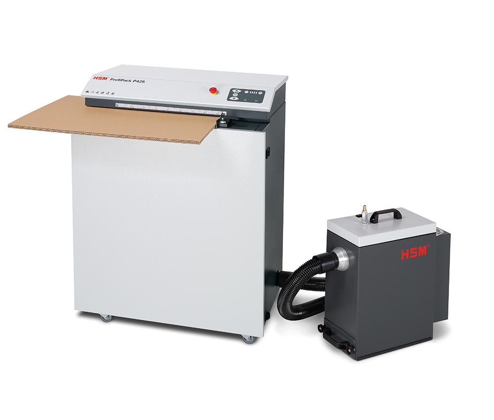 Wypełniacz do kartonów - produkuj sam dzięki urządzeniu HSM Profipack 2
