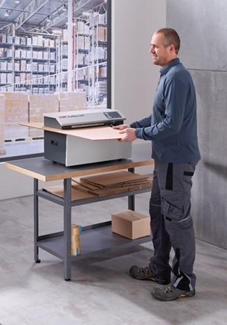 Wypełniacz do kartonów - produkuj sam dzięki urządzeniu HSM Profipack 4