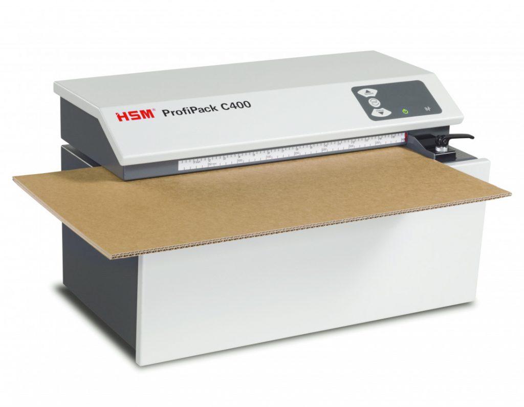 Wypełniacz do kartonów - produkuj sam dzięki urządzeniu HSM Profipack 1